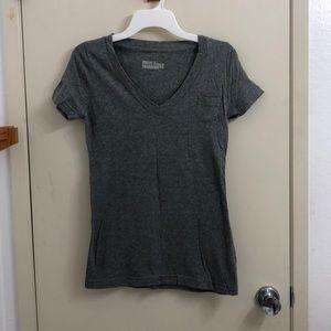 V-neck t-shirt used in women